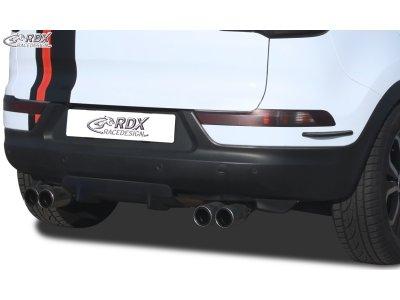 Накладка на задний бампер U-Diff от RDX Racedesign на Kia Sportage III