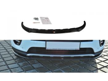 Накладка на передний бампер от Maxton Design для Kia Sportage IV GT-Line