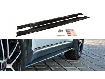 Накладки на пороги от Maxton Design для Kia Sportage IV GT-Line