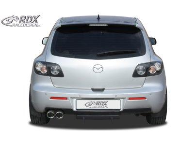 Накладка на задний бампер U-Diff от RDX Racedesign на Mazda 3 BK рестайл
