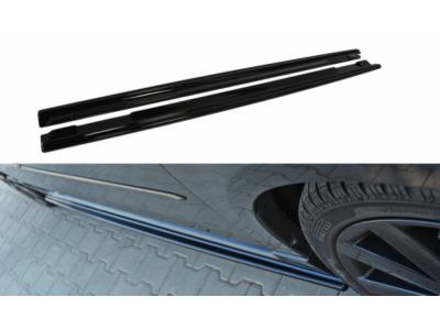 Накладки на пороги от Maxton Design для Mazda 3 BK MPS