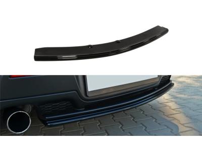 Накладка на задний бампер центральная от Maxton Design для Mazda 3 BK MPS
