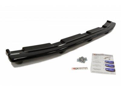 Накладка на задний бампер Var2 от Maxton Design для Mazda 3 MPS BL