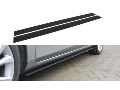 Накладки на пороги от Maxton Design для Mazda 3 Sport BL