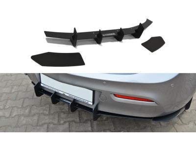 Накладка на задний бампер от Maxton Design для Mazda 3 Sport BL