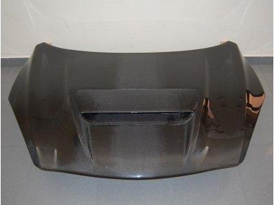Капот карбоновый с ковшом от Eurolineas для Mazda 3 MPS BM