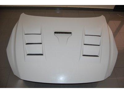 Капот пластиковый с жабрами от Eurolineas для Mazda 3 BM
