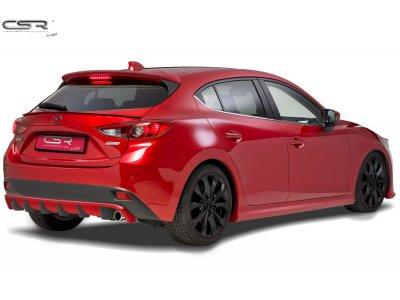Накладка на задний бампер от CSR Automotive для Mazda 3 BM
