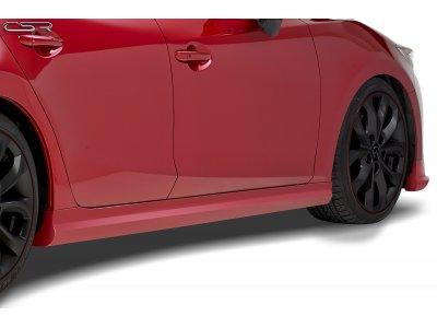 Накладки на пороги от CSR Automotive для Mazda 3 BM