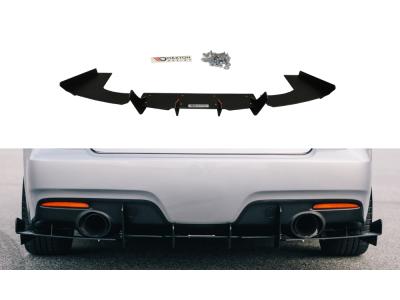 Накладка на задний бампер от Maxton Design для Mazda 6 GG GY MPS