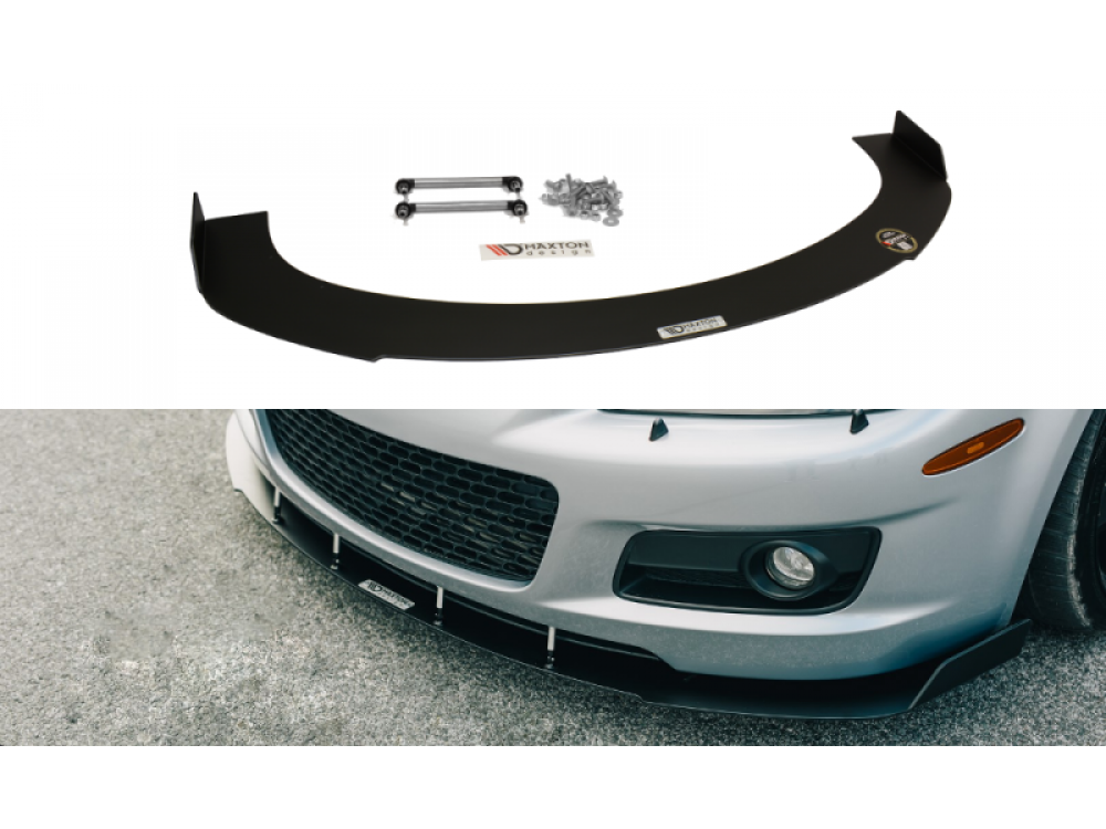 Накладка на передний бампер от Maxton Design для Mazda 6 GG GY MPS