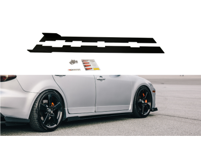 Накладки на пороги от Maxton Design для Mazda 6 GG GY MPS