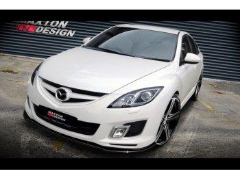 Накладка на пердний бампер MAXTON Design для Mazda 6 GH Dynamic Sport