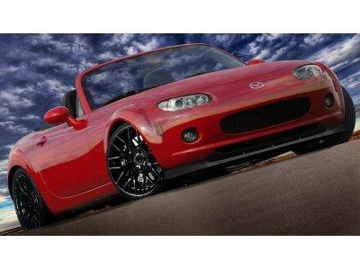 Накладка на передний бампер MAXTON Design для Mazda MX5 NC