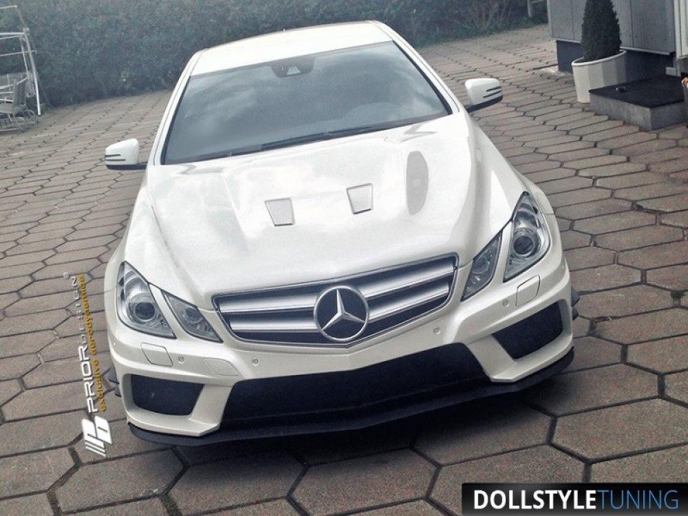 Бампер передний в стиле Prior-Design PD550 Black Edition для Mercedes E Coupe C207 (реплика)