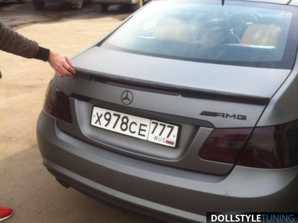 Спойлер на крышку багажника Prior-Design PD550 Black Edition для Mercedes E Coupe C207