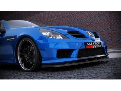 Накладка на передний бампер AMG R172 Look от Maxton Design на Mercedes SLK класс R171
