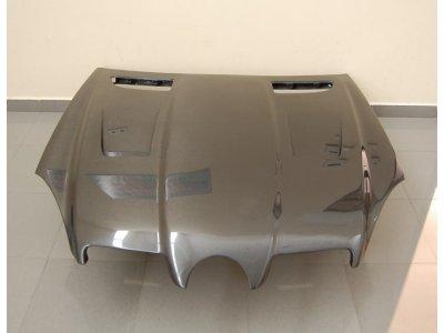 Капот карбоновый в стиле AMG Black Series от Eurolineas на Mercedes SLK класс R171