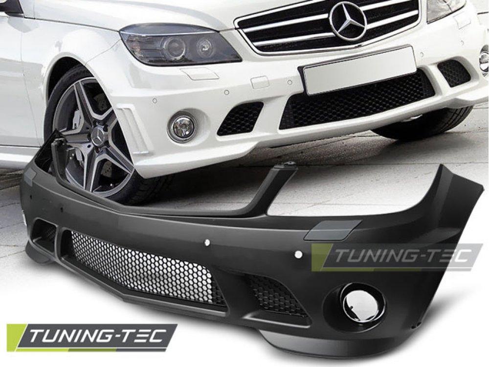 Бампер передний в стиле AMG C63 от Tuning-Tec на Mercedes C класс W204