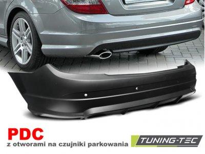 Бампер задний в стиле AMG C63 от Tuning-Tec на Mercedes C класс W204