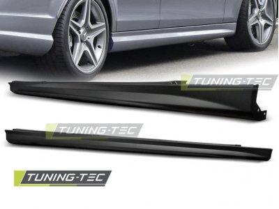 Накладки на пороги AMG Look от Tuning-Tec на Mercedes C класс W204