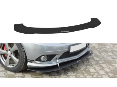 Накладка на передний бампер MAXTON Design для Mercedes C класс W204 AMG-Line