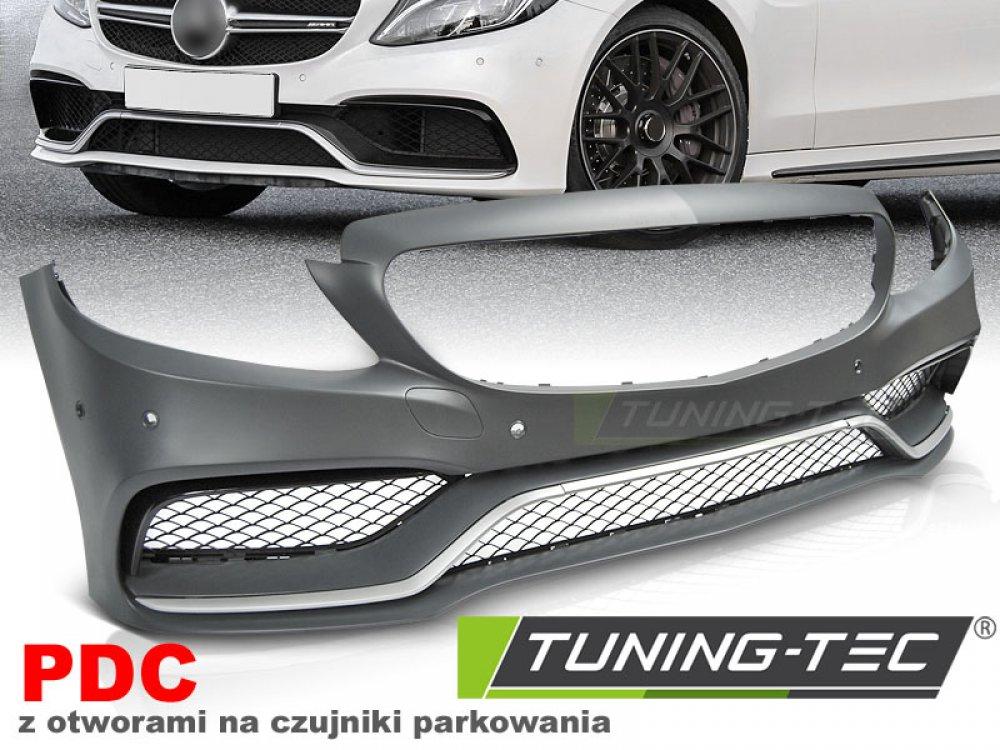 Бампер передний AMG C63 Look от Tuning-Tec на Mercedes C класс W205