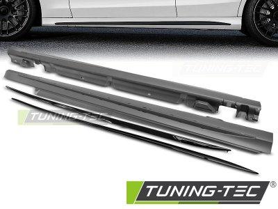 Накладки на пороги AMG C63 Look от Tuning-Tec на Mercedes C класс W205