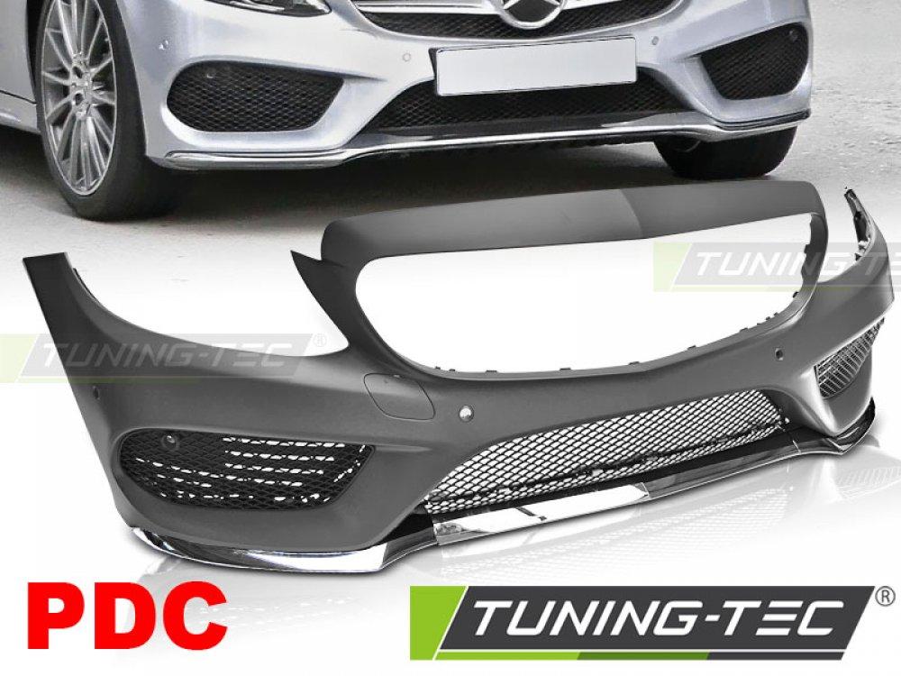 Бампер передний AMG Look от Tuning-Tec на Mercedes C класс W205