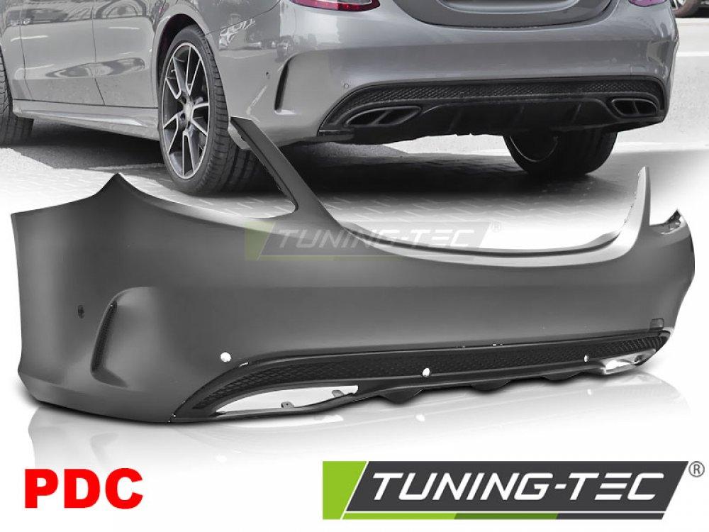 Бампер задний AMG Look от Tuning-Tec на Mercedes C класс W205