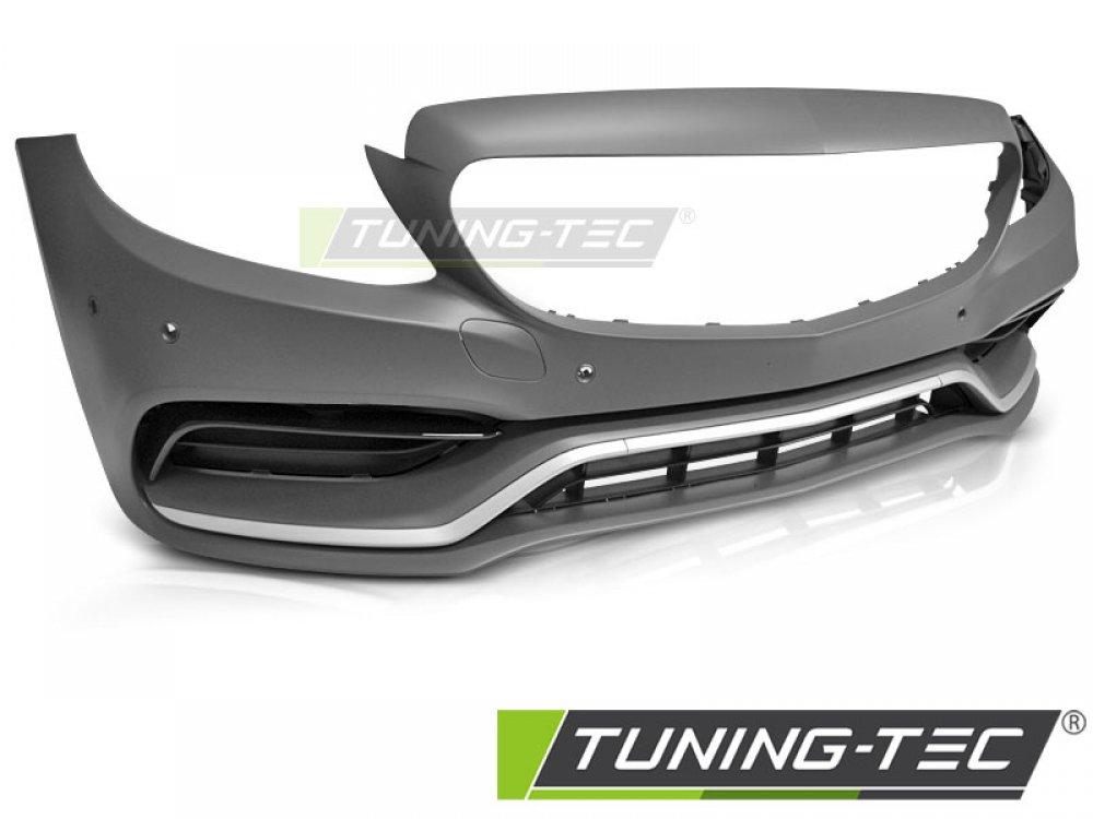 Бампер передний в стиле AMG C63 от Tuning-Tec на Mercedes C W205 рестайл