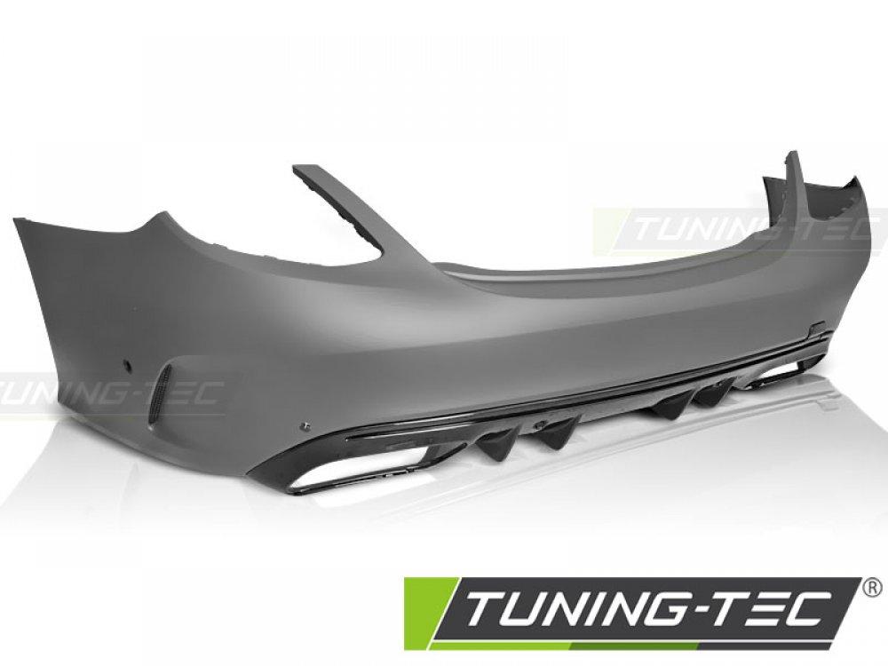 Бампер задний в стиле AMG C63 от Tuning-Tec на Mercedes C W205 рестайл
