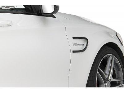Накладки на воздухозаборники крыльев от CSR на Mercedes C W205 AMG / AMG-Line