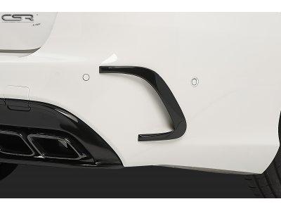 Накладки на воздухозаборники заднего бампера от CSR на Mercedes C W205 AMG / AMG-Line