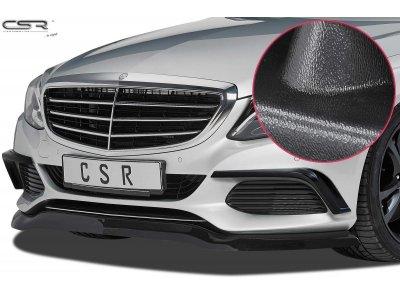 Накладка на передний бампер Matte Black от CSR на Mercedes C класс W205