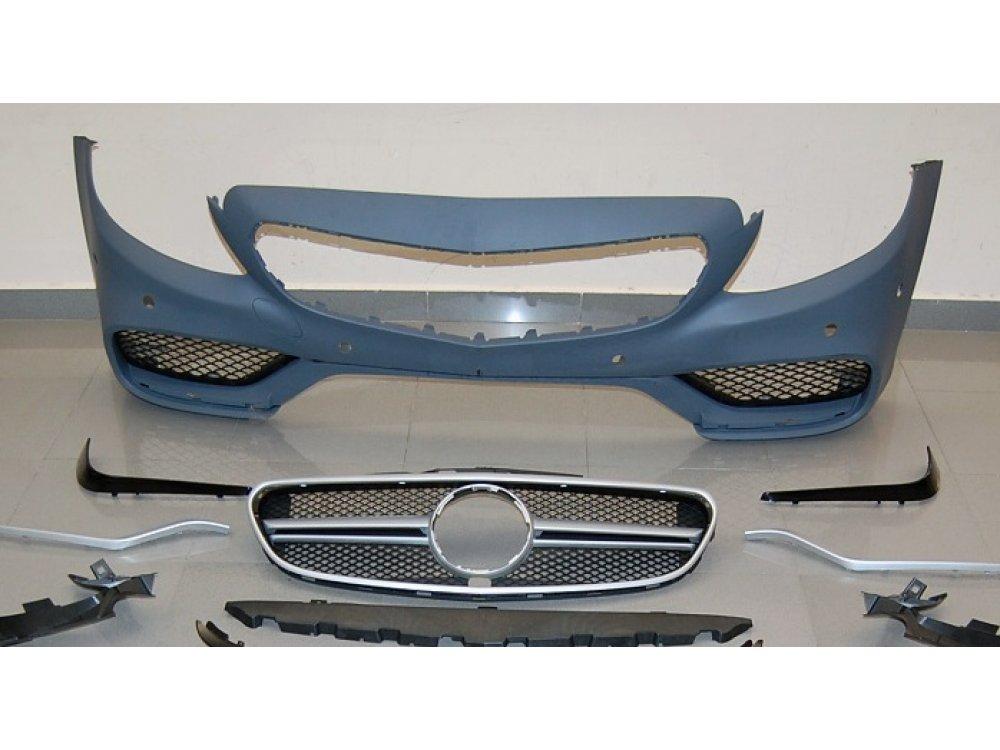 Бампер передний AMG C63 Look от Eurolineas на Mercedes C класс W205