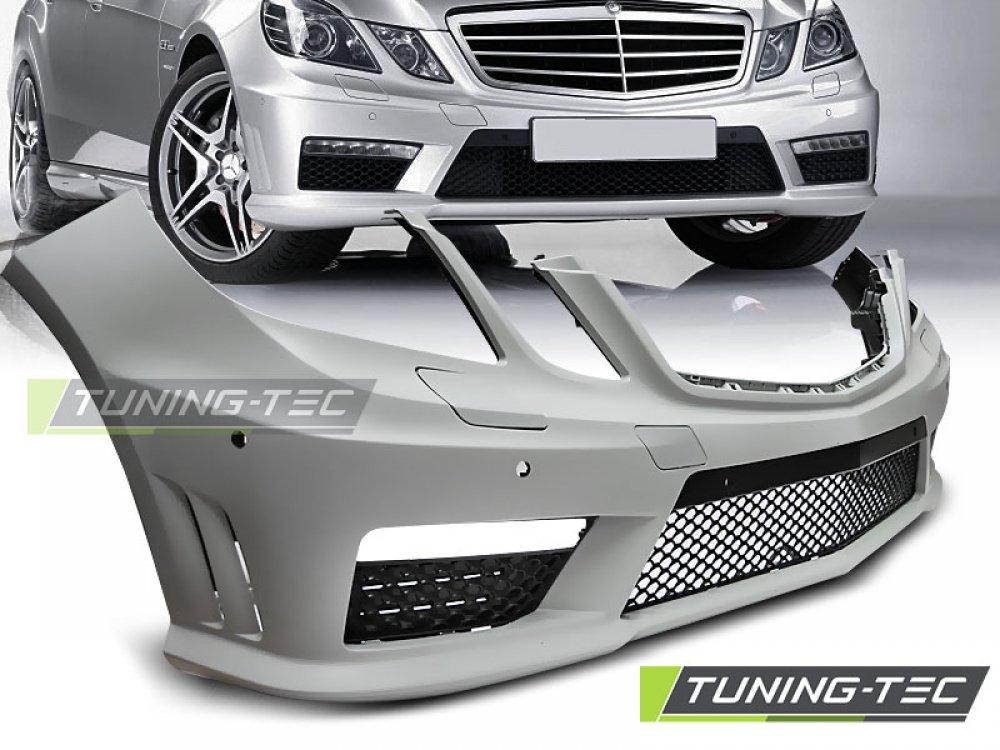 Бампер передний в стиле AMG 6.3 от Tuning-Tec на Mercedes E класс W212