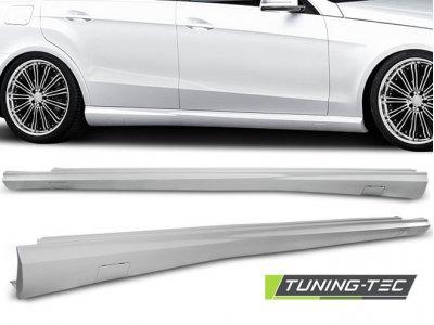 Накладки порогов в стиле AMG 6.3 от Tuning-Tec на Mercedes E класс W212