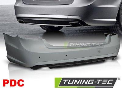Бампер задний в стиле AMG 6.3 от Tuning-Tec на Mercedes E класс W212