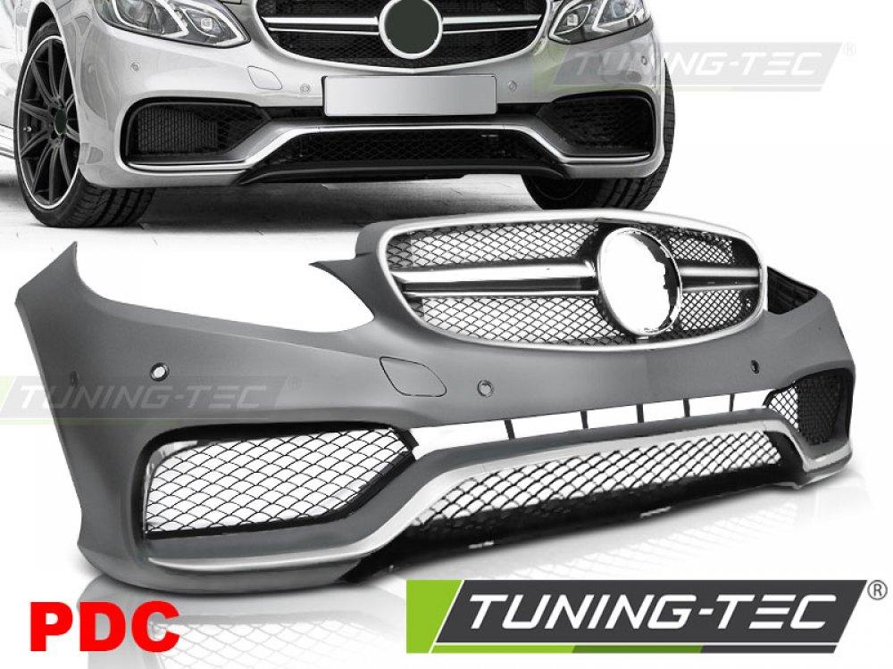 Бампер передний в стиле AMG 6.3 от Tuning-Tec на Mercedes E класс W212 рестайл