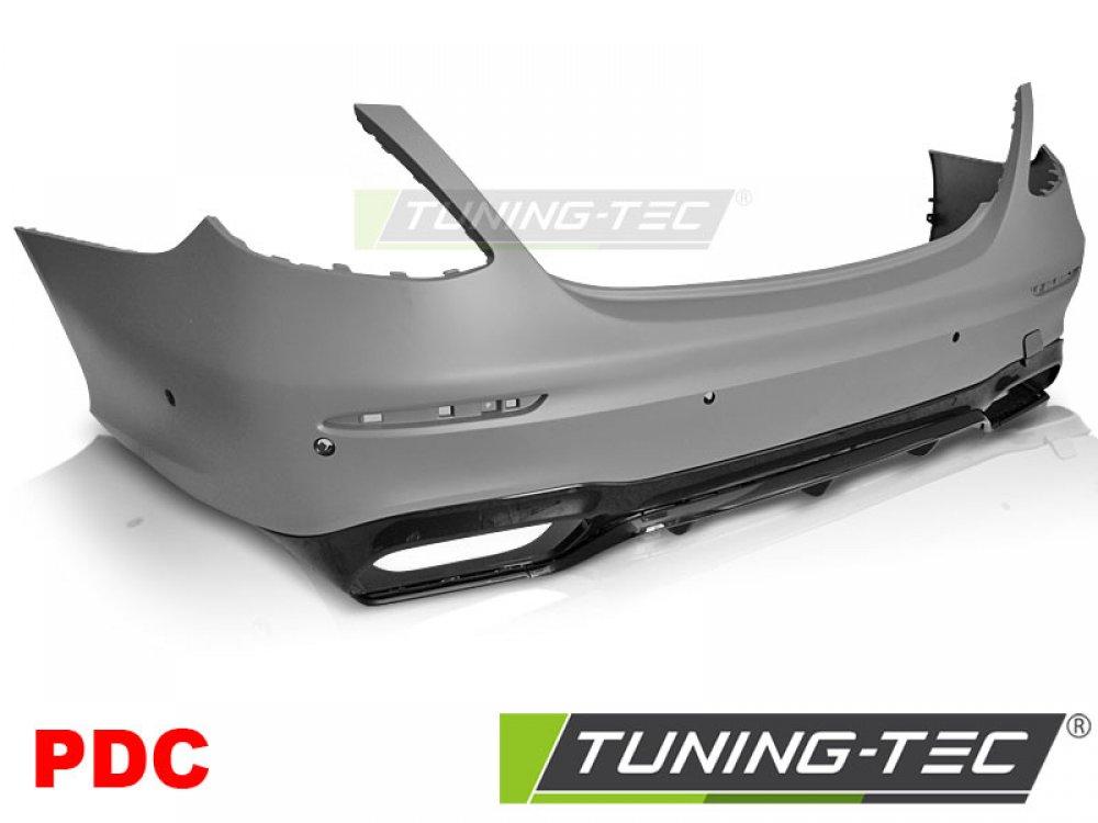 Бампер задний в стиле AMG E63 от Tuning-Tec на Mercedes E класс W213