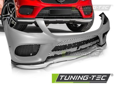 Бампер передний в стиле E43 AMG от Tuning-Tec на Mercedes GLE C292 Coupe