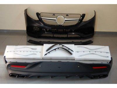 Комплект обвеса в стиле AMG 6.3 от Eurolineas на Mercedes GLE класс C292 Coupe