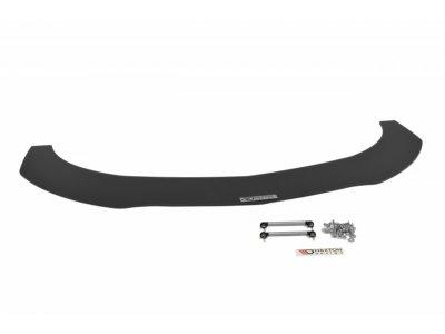 Накладка на передний бампер V3 MAXTON Design для Mercedes CLA класс C117 AMG