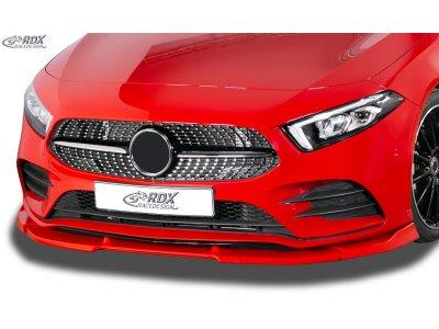 Накладка на передний бампер Vario-X от RDX на Mercedes CLA класс C117 AMG-Line
