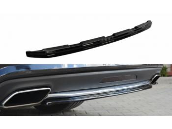 Накладка на задний бампер центральная от Maxton Design на Mercedes CLS класс W218