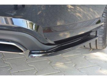 Боковые накладки на задний бампер от Maxton Design на Mercedes CLS класс W218