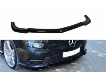 Накладка на передний бампер от Maxton Design на Mercedes CLS класс W218