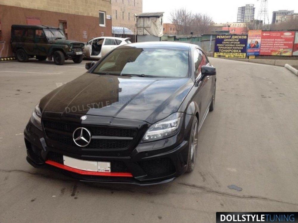 Бампер передний Prior-Design PD550 Black Edition для Mercedes CLS W218 (реплика)