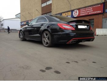 Бампер задний Prior-Design PD550 Black Edition для Mercedes CLS W218 (реплика)